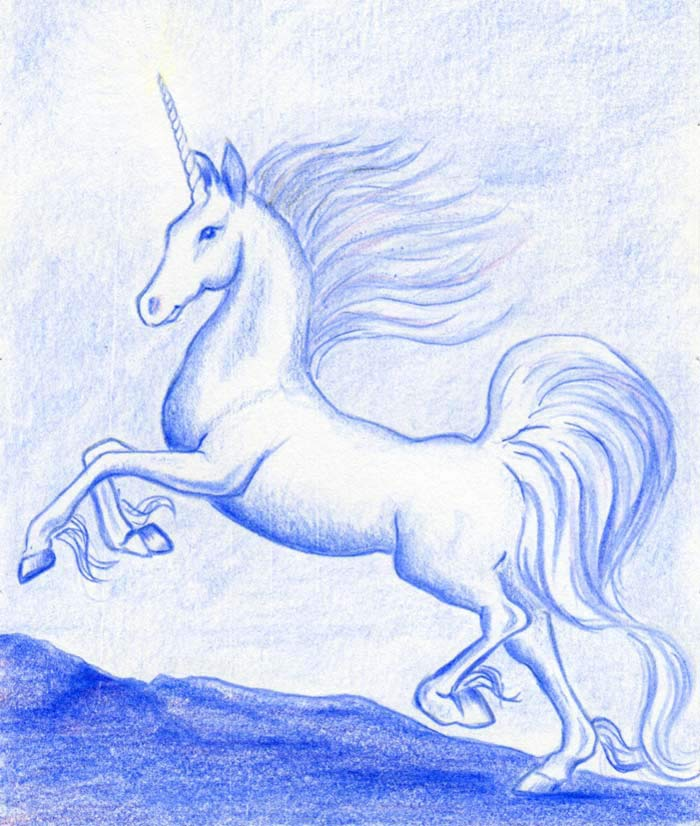 How to draw a unicorn ~ Mulberry