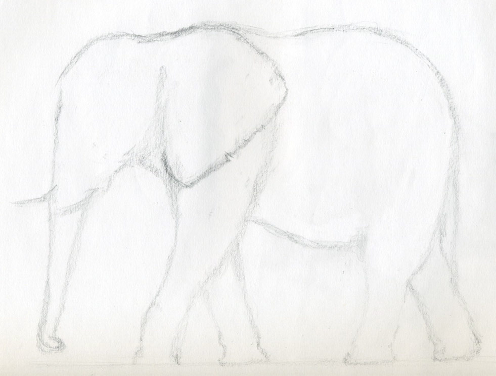 How to draw an elephant click the image to enlarge ccuart Image collections