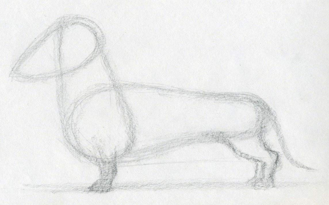 Uncategorized Easy Pictures To Sketch how to draw dog click the image enlarge
