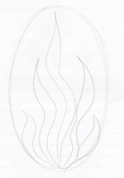 How To Draw Flames Step By