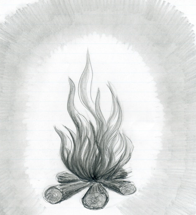 fire drawings design - photo #21