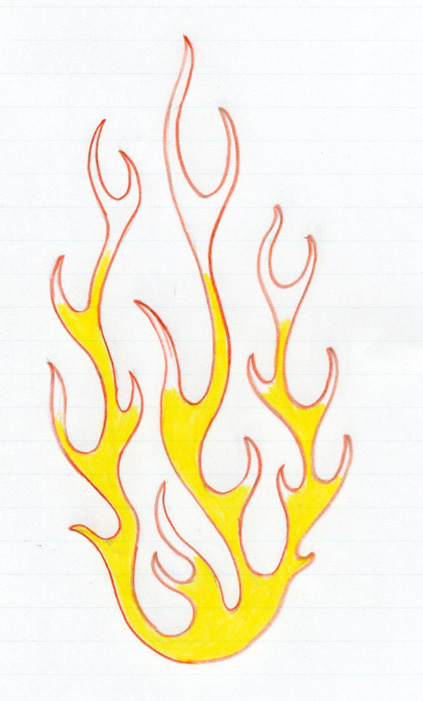 fire drawings design - photo #42