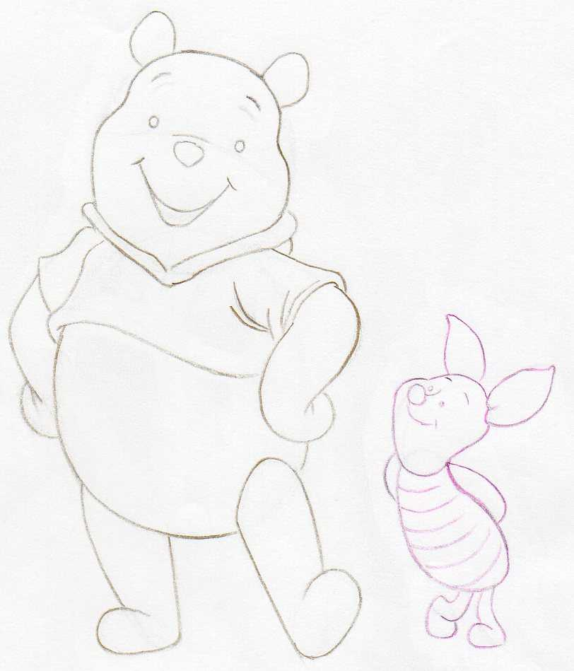 How to Draw Winnie The Pooh