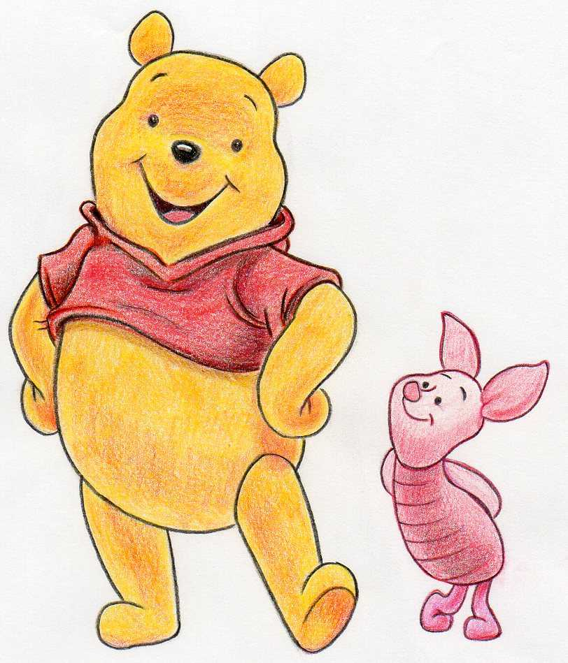 It is an image of Exhilarating Drawing Winnie The Pooh