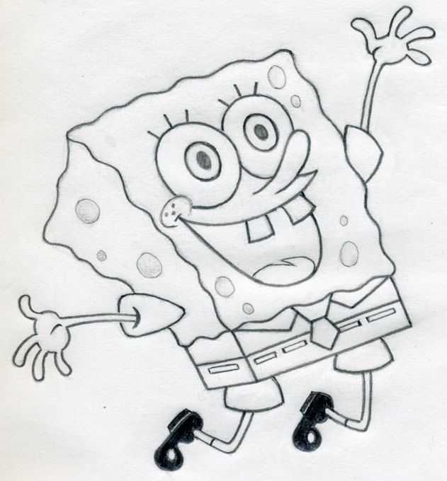 first Spongebob drawing