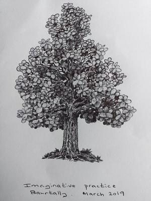 Imaginary art with ballpen2