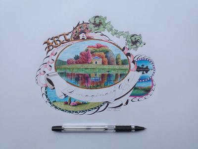 Imaginary art with ballpen1