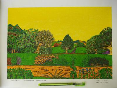 Imaginary art with gel ink pens Tuzoo1