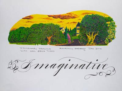IMAGINARY ART WITH GEL PENS TUZOO