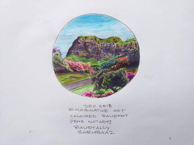 IMAGINARY VIEW WITH BALLPENS2