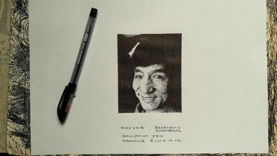 JACKIE CHAN DRAWING