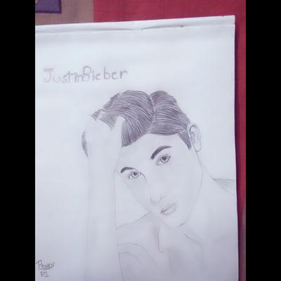Justin biebear sketch