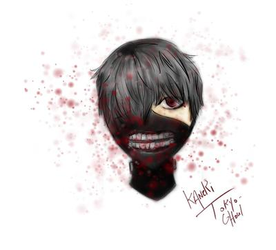 Kaneki from Tokyo Ghoul