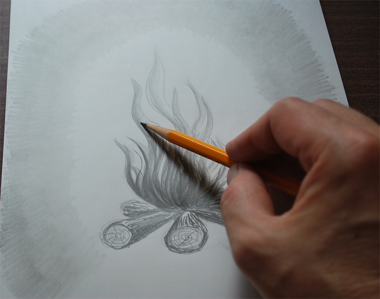 How To Draw Flames Misterriggs