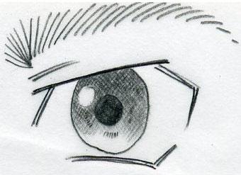 Easy Anime Eye Sketches