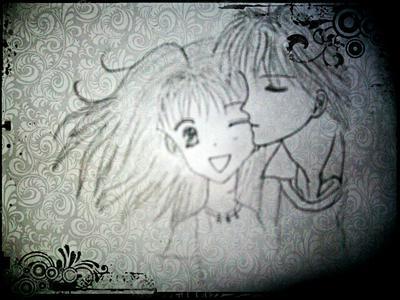 Marmalade boy drawing
