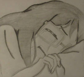 Meiko-chan crying Digimon Tri
