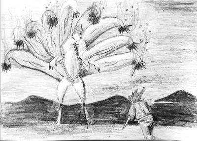 Midoro and Ninetails1