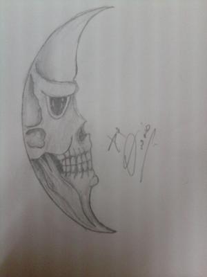 Moon skull:)