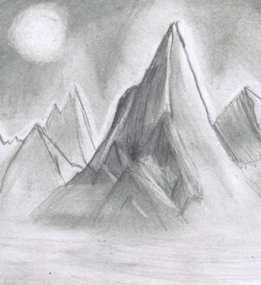 Pencil Sketch Scenery Drawing Easy