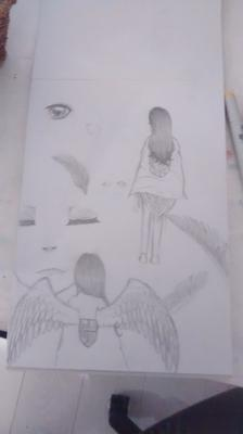 My Attack on Titan Oc (angel)