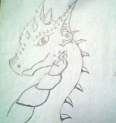 My dragon drawing
