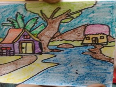 My drawing scenery