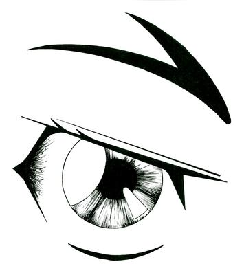 manga eye drawing