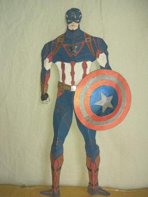 My first captain america