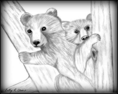moma and baby bear