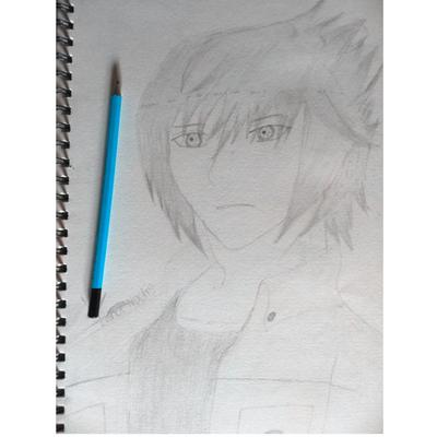 My first drawing of Noctis