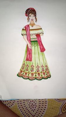 My First Fashion Design Drawing