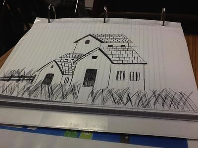 My first home drawing