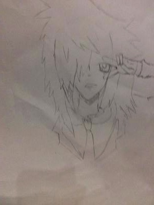 My first manga Drawing