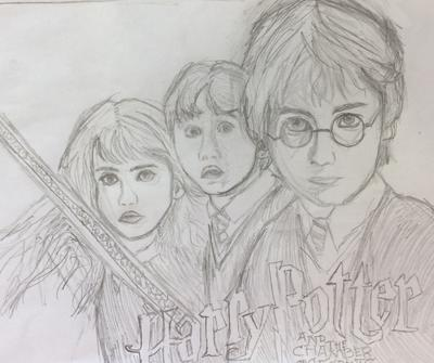 My Harry Potter Drawing