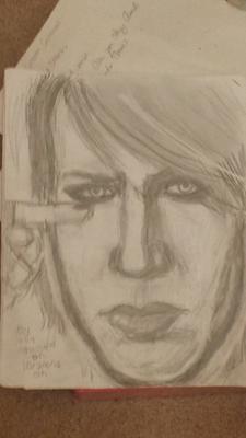 My Marilyn Manson Drawing
