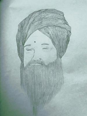 My pencil sketch