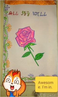 My rose painting
