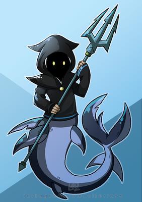 Mystical Shark of The Sea