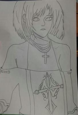 Nice girl sketch