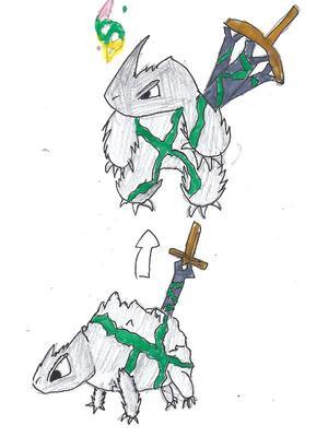 Rock Sword Pokemon