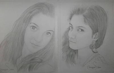 sketch of Joyita Bhattacharya