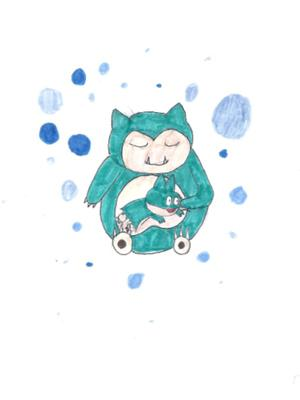 Snorlax and Munchlax