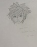 Drawing kingdom hearts