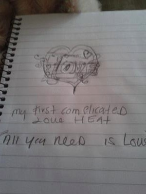 the all u need is love picture I drew
