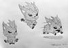 Character Pencil Drawings