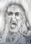 Dee Snider pencil Drawing