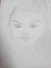 Pencil sketch of Aishwriyamam
