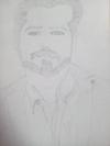 Emran hashmi pencil sketch