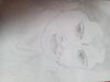 Pencil sketch of south actress anuska mam ( bahubali)